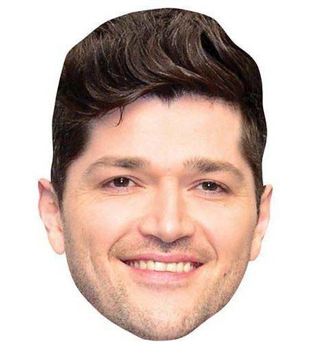 A Cardboard Celebrity Mask of Danny O'Donoghue