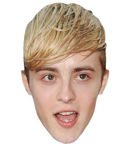 A Cardboard Celebrity Mask of John Grimes