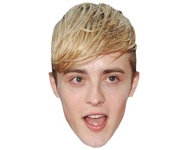 A Cardboard Celebrity Mask of John Grimes