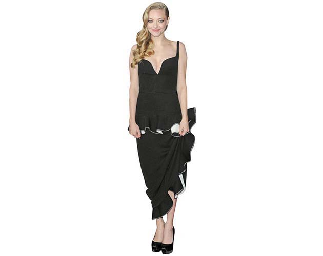 Amanda Seyfried Long Dress Cardboard Cutout