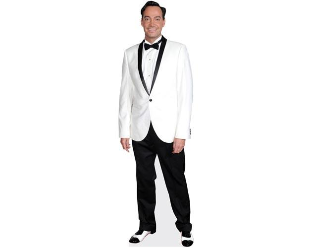 A Lifesize Cardboard Cutout of Craig Revel Horwood wearing a white jacket
