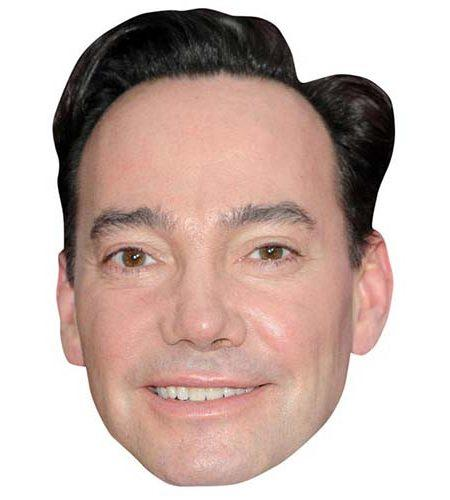 A Cardboard Celebrity Mask of Craig Revel Horwood