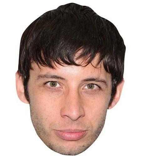 A Cardboard Celebrity Mask of Example