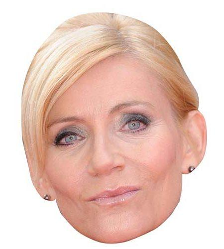 A Cardboard Celebrity Big Head of Michelle Collins