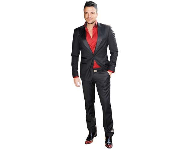 Peter Andre Cardboard Cutout