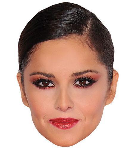 A Cardboard Celebrity Big Head of Cheryl Cole
