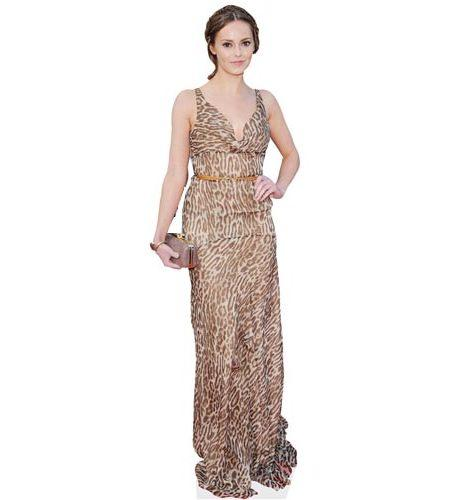 Hannah Tointon Long Dress Cardboard Cutout