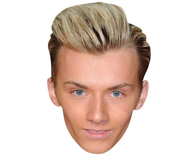 A Cardboard Celebrity Mask of Harry Derbidge