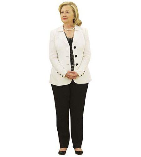 Hillary Clinton Cardboard Cutout