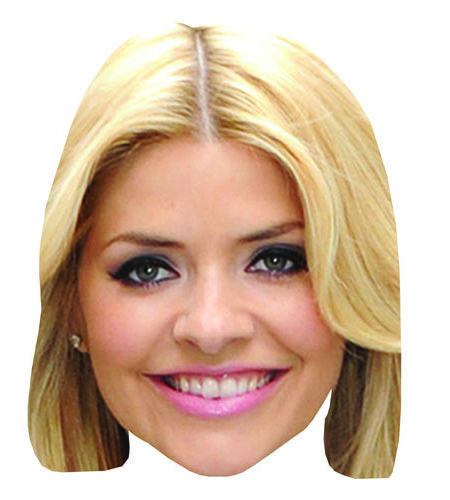 A Cardboard Celebrity Holly Willoughby Big Head