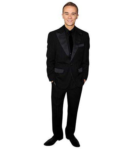 A Lifesize Cardboard Cutout of Jack P Shepherd wearing a smart outfit