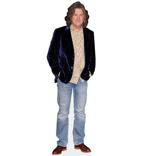 A Lifesize Cardboard Cutout of James May wearing blazer and jeans