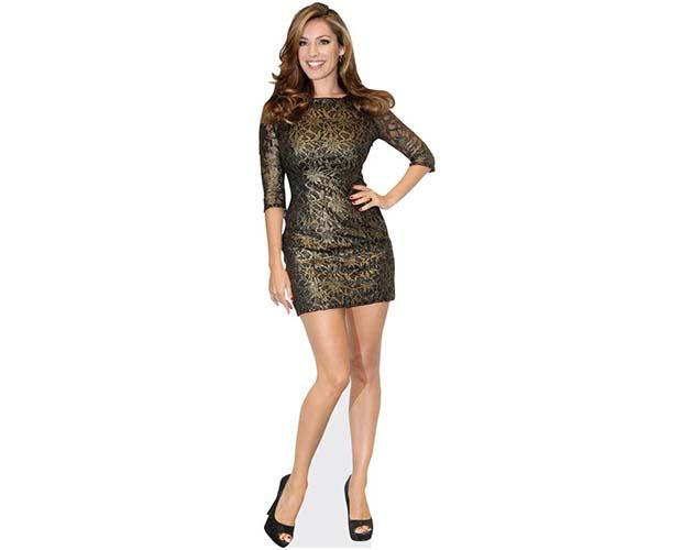 Kelly Brook Short Dress Cardboard Cutout