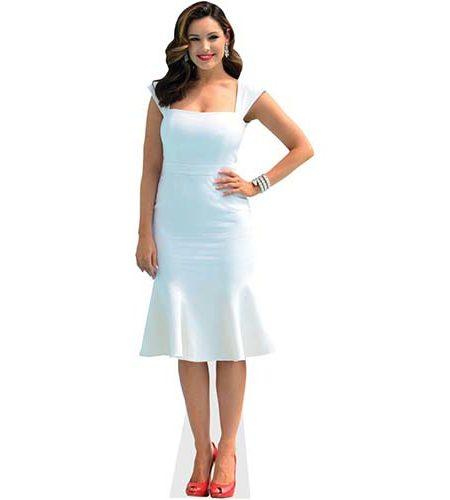 Kelly Brook Cardboard Cutout