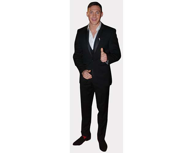 A Lifesize Cardboard Cutout of Kirk Norcross with thumbs up