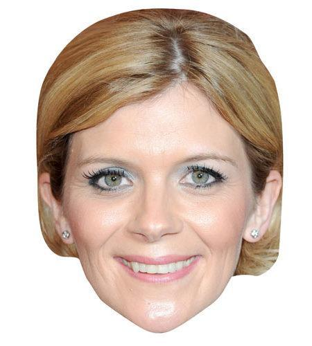A Cardboard Celebrity Mask of Jane Danson