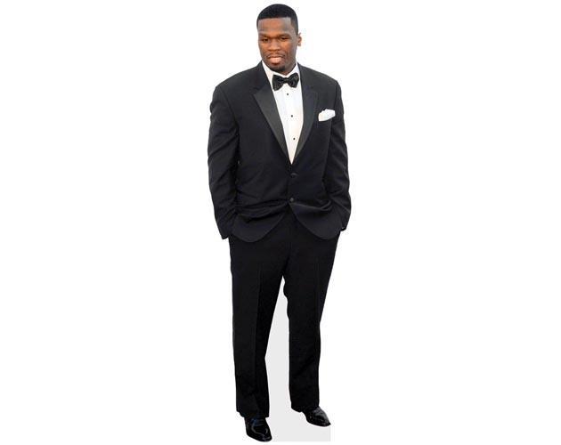 50 Cent Cardboard Cutout