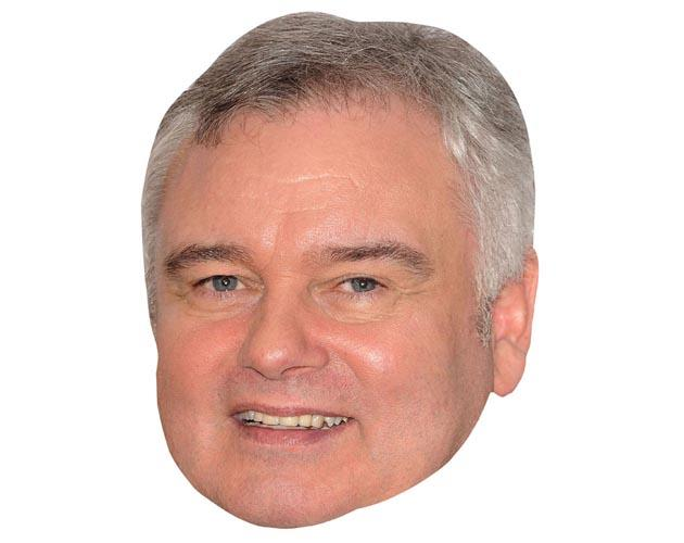 A Cardboard Celebrity Mask of Eamonn Holmes