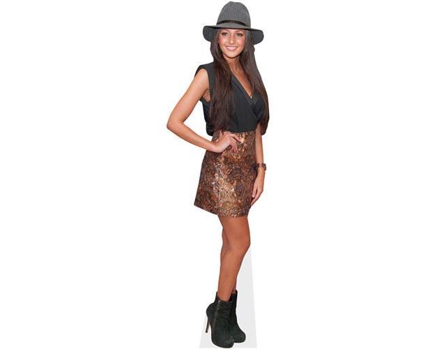 Michelle Keegan Hat Cardboard Cutout