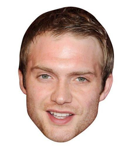 A Cardboard Celebrity Big Head of Chris Fountain