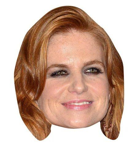 A Cardboard Celebrity Big Head of Patsy Palmer