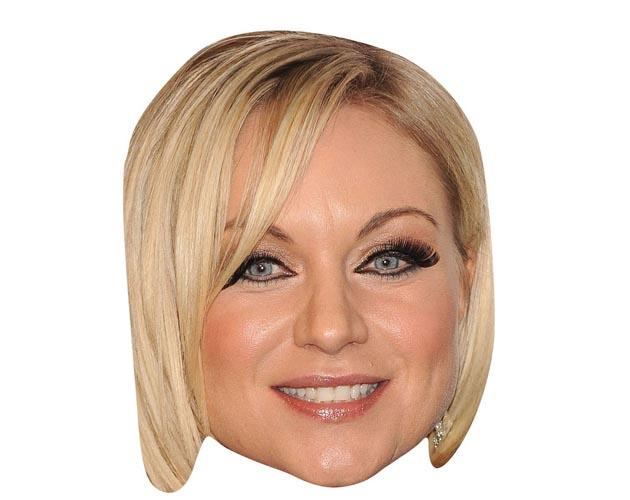 A Cardboard Celebrity Masks of Rita Simons