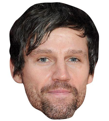 A Cardboard Celebrity Mask of Jason Orange