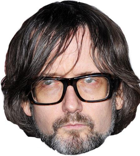 A Cardboard Celebrity Big Head of Jarvis Cocker
