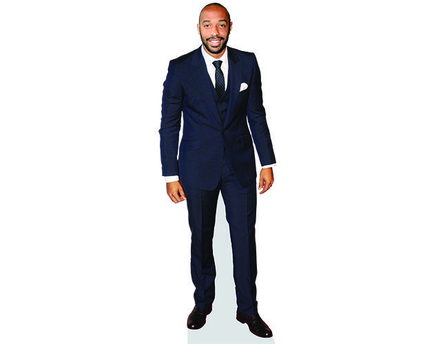 THEIRRY HENRY Cardboard cutout