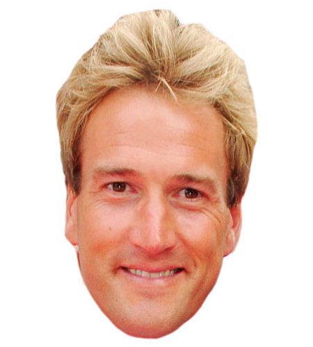 A Cardboard Celebrity Ben Fogle Mask-celebrity-mask