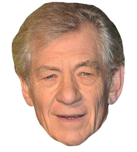Ian McKellen Celebrity Mask
