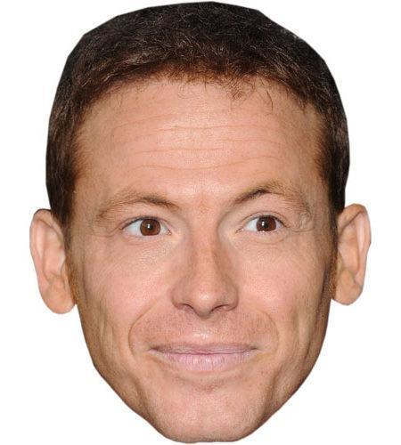 A Cardboard Celebrity Joe Swash Mask