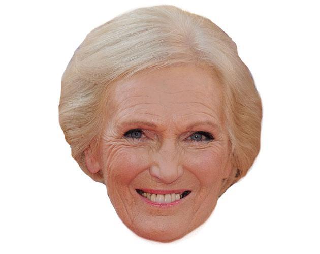 Cardboard Celebrity Mary Berry Mask-celebrity-mask
