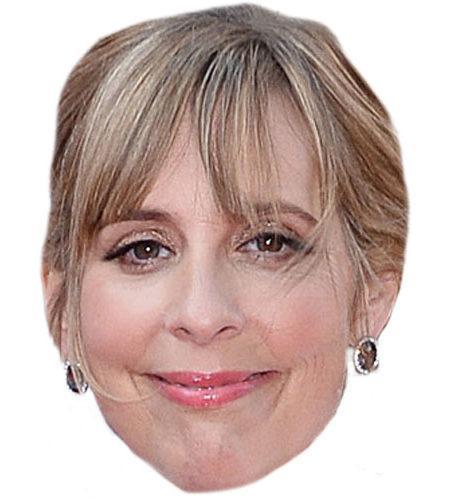 A Cardboard Celebrity Mel Giedroyc Mask