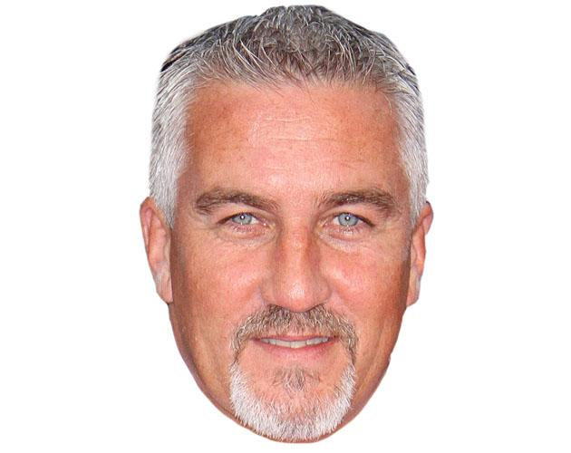 A Cardboard Celebrity Paul Hollywood Mask-celebrity-mask