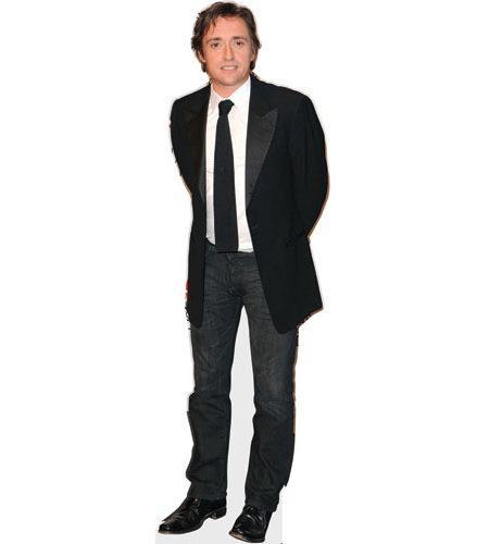 A Lifesize Cardboard Cutout of Richard Hammond wearing a suit