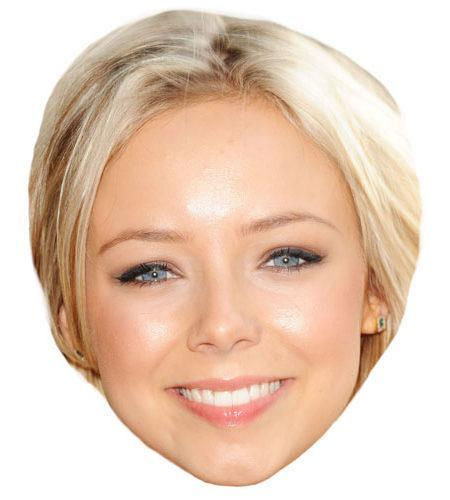 A Cardboard Celebrity Sacha Parkinson Big Head