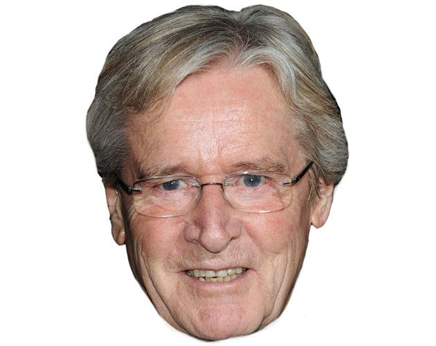A Cardboard Celebrity William Roache Mask