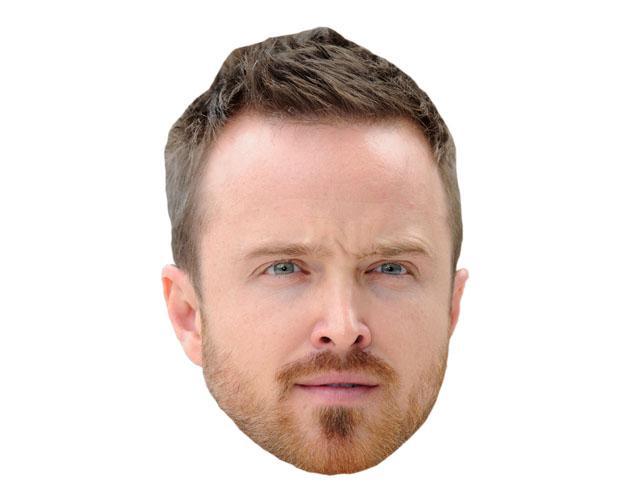 A Cardboard Celebrity Aaron Paul Mask