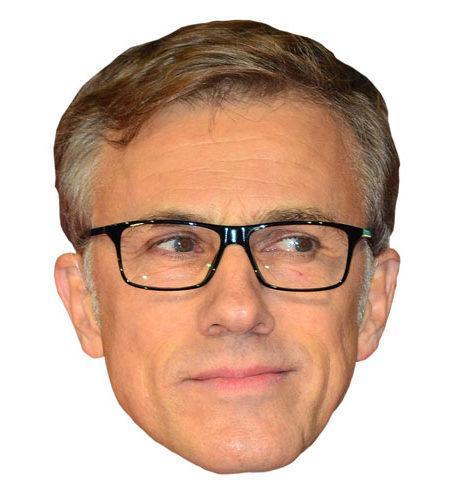 Christoph Waltz Celebrity Mask