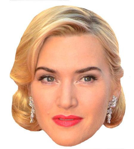 A Cardboard Celebrity Kate Winslet Mask