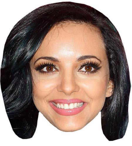 A Cardboard Celebrity Mask of Jade Thirlwall