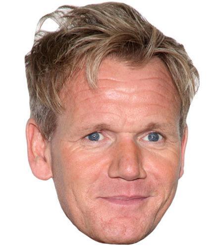 Gordon Ramsay Celebrity Mask