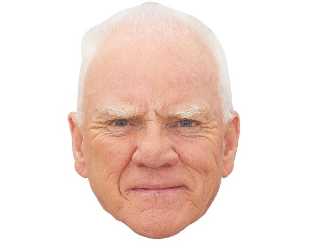 Malcolm McDowell Celebrity Mask