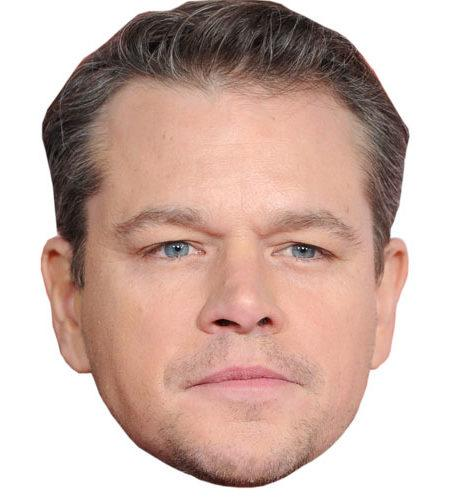 Matt Damon Celebrity Mask