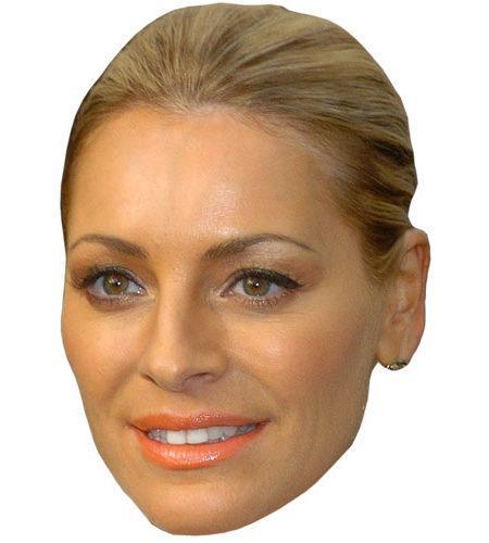 A Cardboard Celebrity Tess Daly Mask