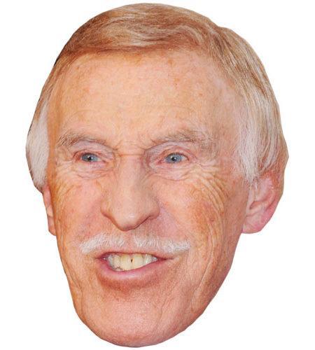A Cardboard Celebrity Bruce Forsyth Mask