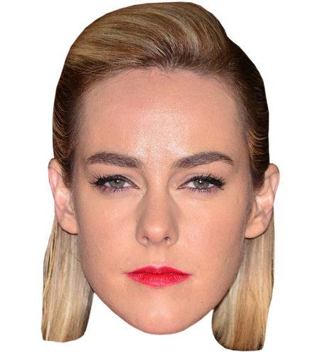 A Cardboard Celebrity Mask of Jena Malone