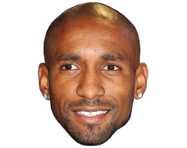 A Cardboard Celebrity Jermain Defoe Mask