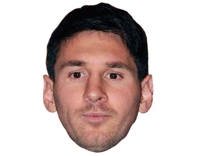 Lionel Messi Celebrity Mask